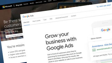 Managing sucessful Search Engine Marketing, SEM, programs through Google Ads and Bing Ads.